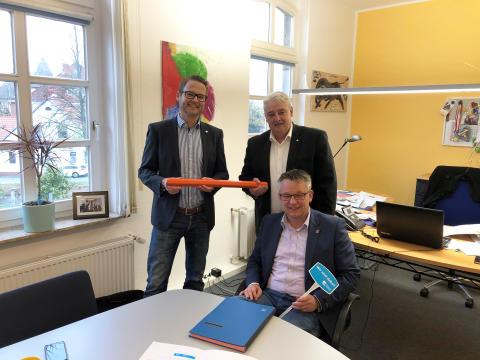 Gemeinde Hagen im Bremischen erhält Zugang zur Datenautobahn