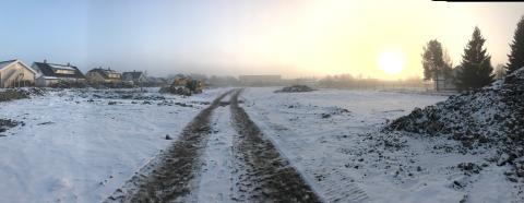 Vykort från BoKlok i Norge