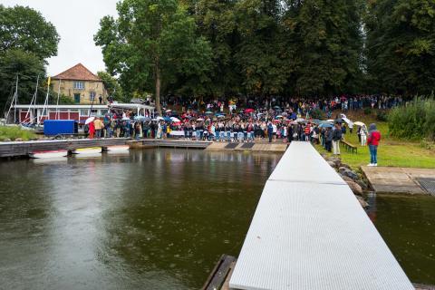 22. Louisenlunder Hafenfest mit neuem Rekord