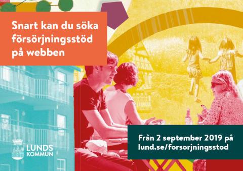 Nu digitaliseras ansökan om försörjningsstöd och utbetalningar till par görs jämlika i Lund