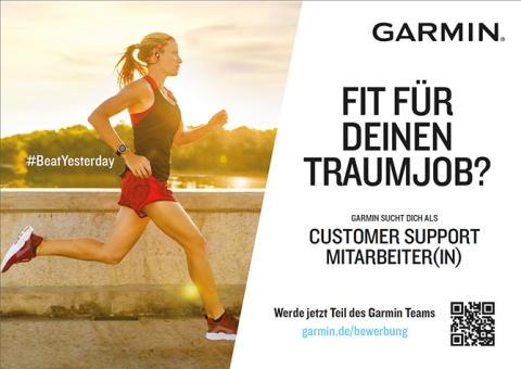 Garmin sucht neue Support Mitarbeiter