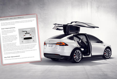 Tesla OTA