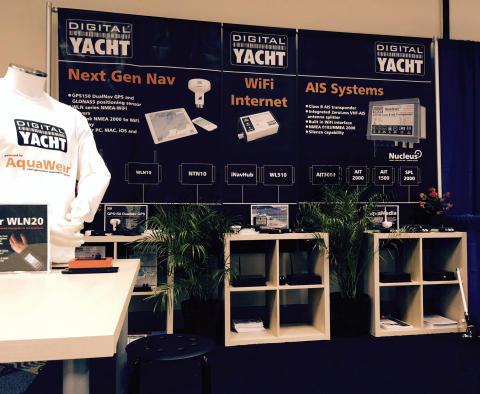 Digital Yacht - Partenariat pour les salons nautiques