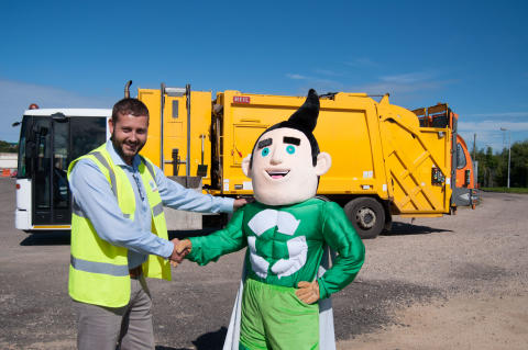 Recycling superhero Enviroman to land in Lossiemouth