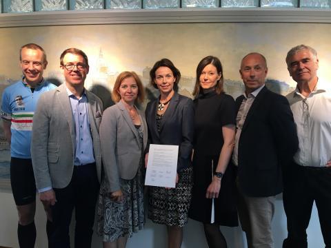 StegVis undertecknade gemensamma ståndpunkter för strategiskt hållbarhetsarbete