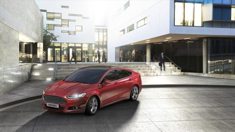 Nye Ford Mondeo, nå også med 4x4
