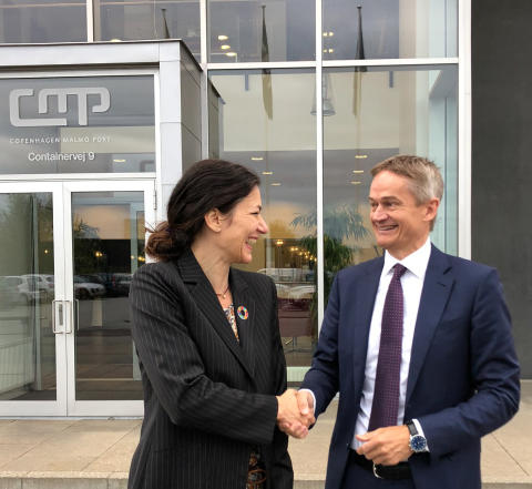 Barbara Scheel Agersnap, CMP & Torben Carlsen, DFDS