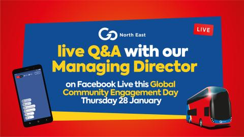 Live Q&A with our Managing Director on Global Community Engagement Day – Thursday 28 January
