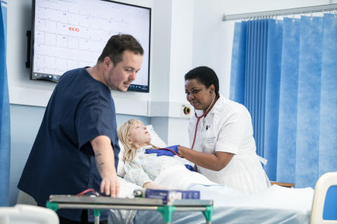 Northumbria University shortlisted for four top nursing awards.
