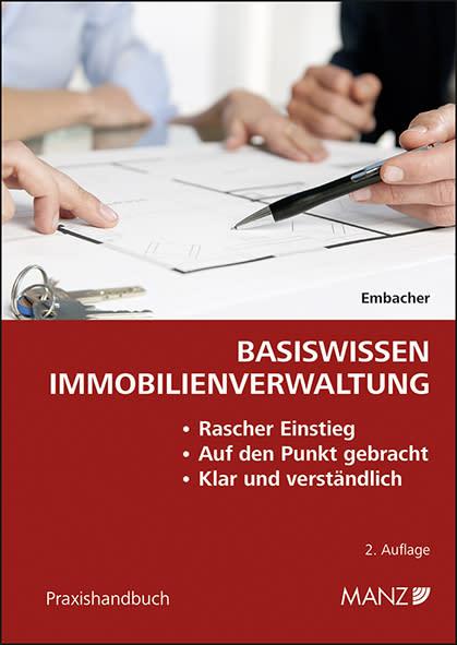 "Neu bei MANZ: Praxishandbuch ""Basiswissen Immobilienverwaltung"""