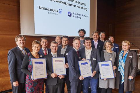 18. Umwelt- und Gesundheitspreis für clevere Konzepte  verliehen