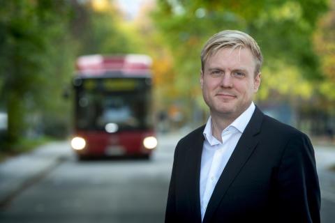 Ny busstvätt i Botkyrka - bättre för miljön