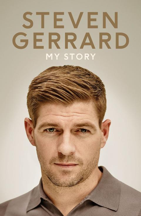 Omslag: Steven Gerrard