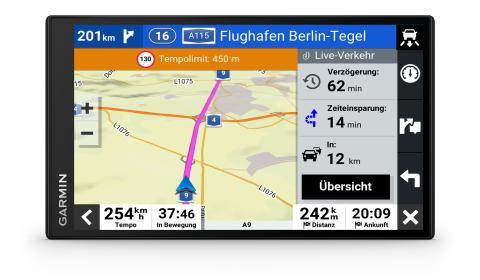 Garmin DriveSmart 76 Traffic Assistenz