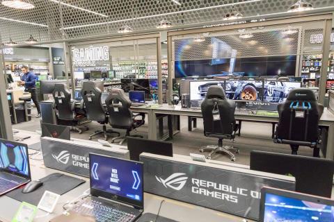 Gaming-avdeling Elkjøp Lørenskog 2