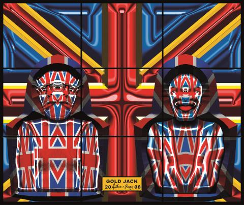 Gilbert & George, GOLD JACK, 2008