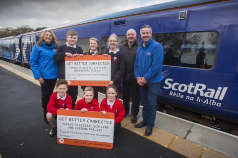 Digital Scotland and Borders Railway: together making Scotland more connected