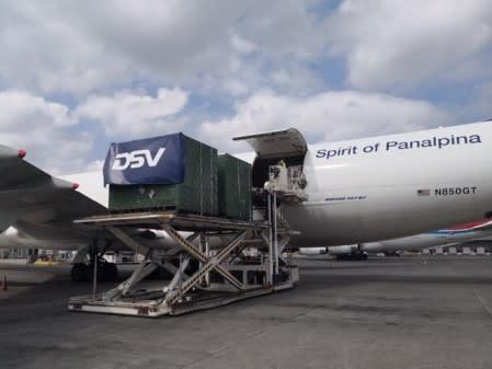 Erste gemeinsame Lieferungen von DSV Panalpina