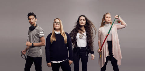 Min samiska historia 2018 - Gruppbild