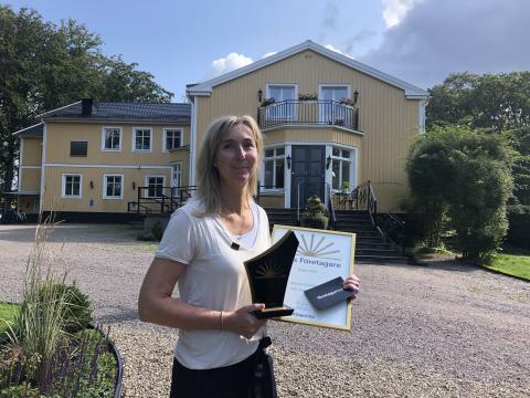 Jessica Goodwin, Årets företagare 2019. Foto: Therese Ekdahl, Växjö kommun