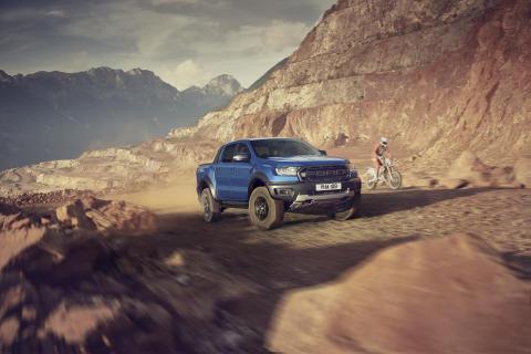 Nový sportovní pick-up Ford Ranger Raptor přichází do Evropy