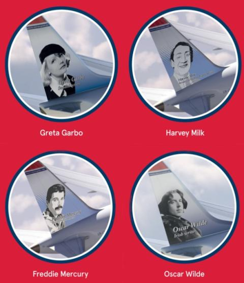 Norwegian Air Shines Light on LGBTQ Tail Fin Heroes to Honor WorldPride