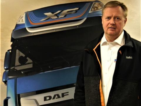 Hannu Timonen on nimitetty DAF-kuorma-automyyjäksi Nordic Truckcenter Oy Vantaan toimipisteeseen
