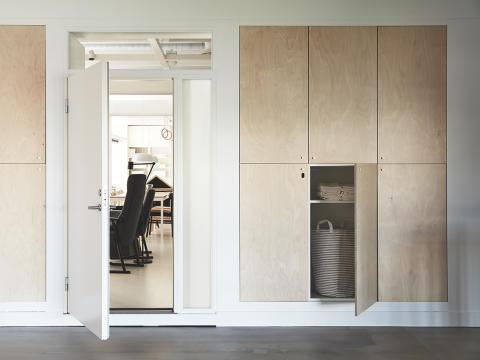 Bild utifrån på lägenheten © Inter IKEA Systems B.V. 2019