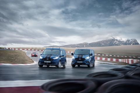 Ford annoncerer den stærkeste varebil i Transit Sport-serien nogensinde