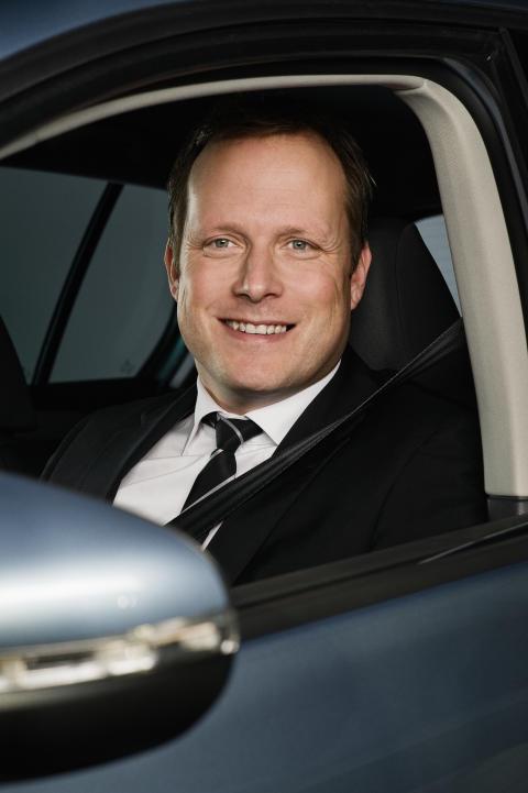 Sten Forsberg, chef för VW Personbilar i Sverige