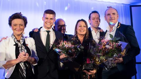 Visa vägen-vinnare prisades i Växjö