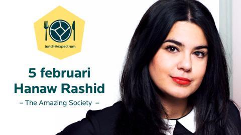 Välkommen till lunch@expectrum 5 februari med Hanaw Rashid