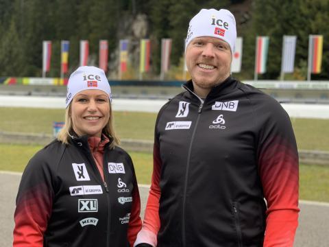 ice blir ny hovedsponsor for Norges Skiskytterforbund