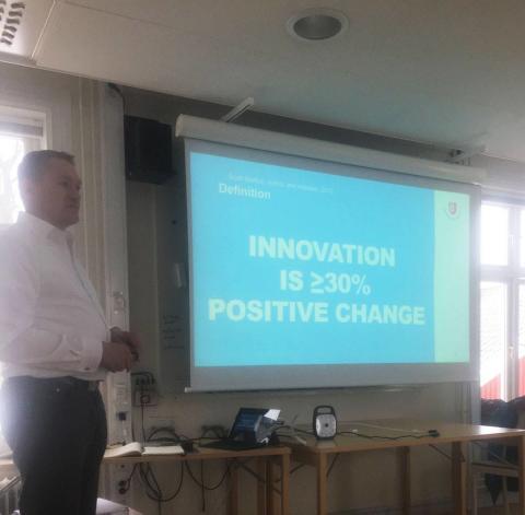 Innovation Jam! Ett event för kreativa och idérika människor med olika bakgrund!