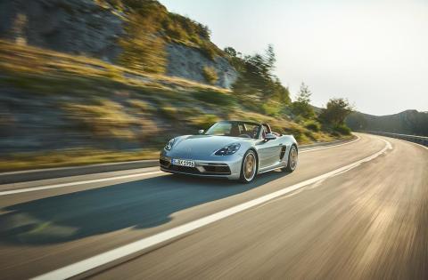 Porsche lanserar jubileumsmodell i begränsad upplaga - Boxster 25 years