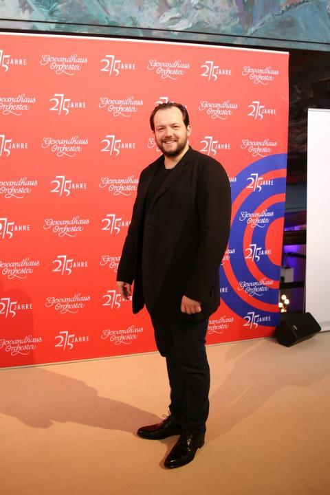 Andris Nelsons wurde als 21. Gewandhauskapellmeister vorgestellt