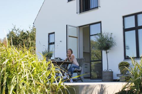DIY - Støp en terrasse 2
