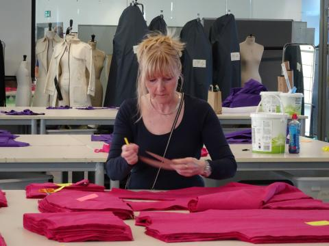 Northumbria University supports NHS by producing thousands of clinical gowns