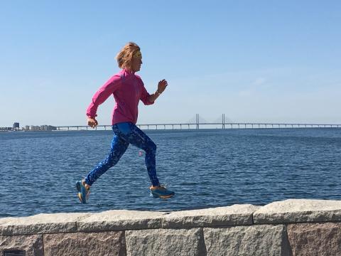 Anna Eriksmo tycker till om La Sportivas nya trailskor