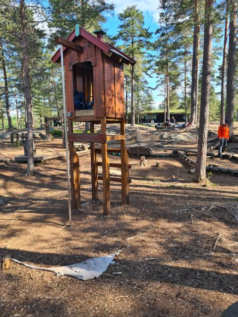 Liv og røre i Lia aktivitetspark