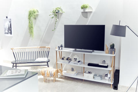 Saving space in shoebox homes: Sony unveils the HT-MT300 compact sound bar, the ideal space saving solution for great sound in small living spaces