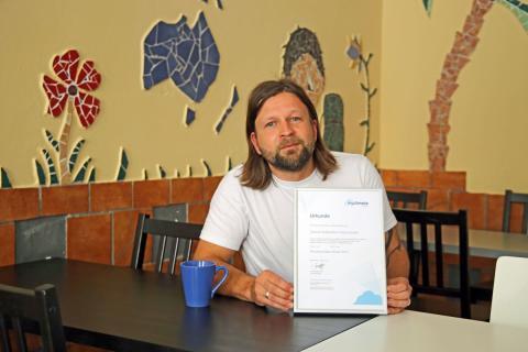 Alexander Grothe vom Central Globetrotter Hostel Leipzig