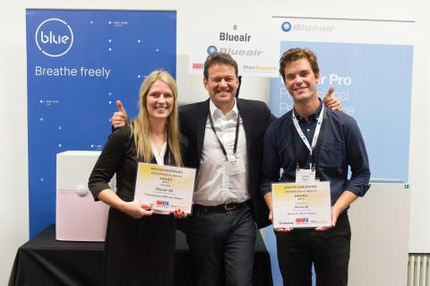 Blueair inomhusluftrenarna tar hem två stora innovations- och designpriser på Europas ledande teknikmässa, IFA Berlin