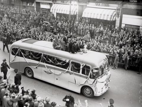 1952 Newcastle United FA Cup Winning team