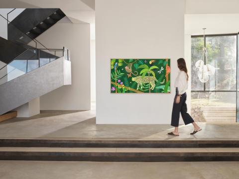Samsung presenterar nya inspirerande konstverk och foton i The Frames Art Store