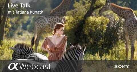 Sony Pro Photographer Live Talks - Tatjana Kunath