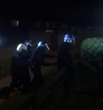 New Addington raid