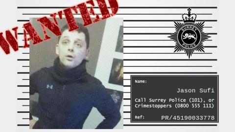 Have you seen wanted man Jason Sufi?