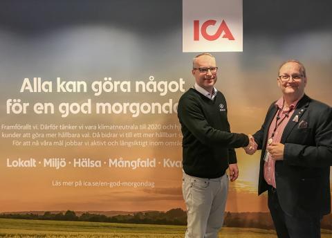 Nokas levererar säkerhetsteknik till ICAs nya huvudkontor