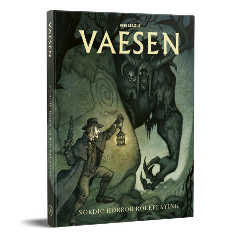 Vaesen – Nordic Horror Roleplaying Coming July 28 From Free League Publishing